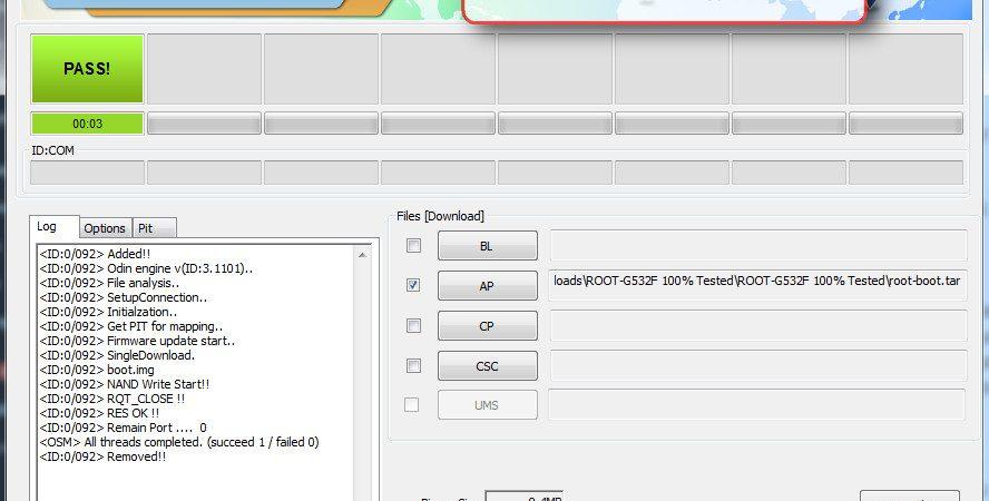 Samsung G532F, G532G, G532M Root File & Unlock Done   Mtk