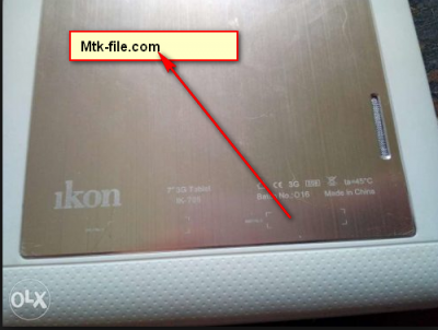 Ikon-ik-785 SP5735 Firmware Flash File Download