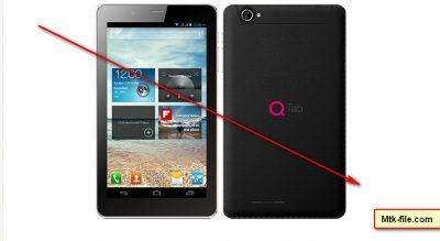 QMobile QTab Q50 MT6572 Rom firmware flash file Download