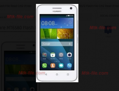 Huwei Y360-U82 Rom Firmware Flash File 100% Tested Free Download