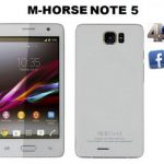 M Horse Note 5 MT6572 Rom Firmware Flash File 100% Tested Download