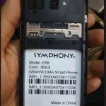 Symphony E58 7715 Pac  Firmware Flash File 100% Tested