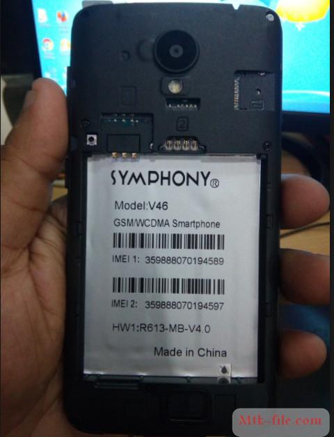Symphony V46 Flash File