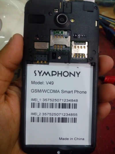 Symphony V49 Flash File