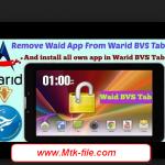 Warid BVS Tab Dual Sim MT6582 E7+_E7.V2.13 Rom Firmware Download