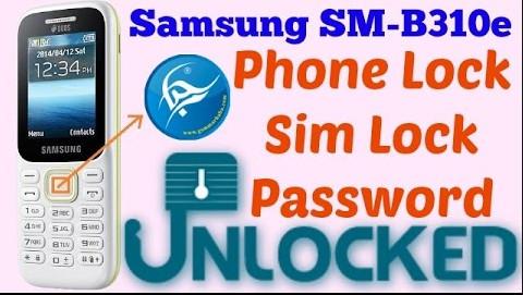 Samsung B310E Phone Lock