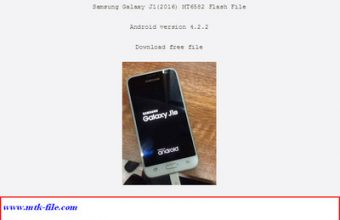 Samsung Galaxy J1(2016) MT6582 Firmware Flash File 100% Tested