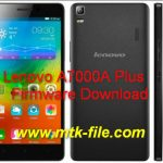 Lenovo A7000A Plus Firmware Flash File