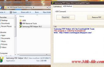 Samsung FRP Helper V0.2 FRP Removal Tool Download