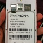 Symphony i21 Firmware Flash File FRP Fix 100% Tested Download