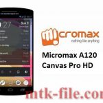Micromax A120 Flash File Firmware 100% Tested Download