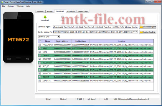 Micromax D321 Flash File (All Version) 100% Tested Download