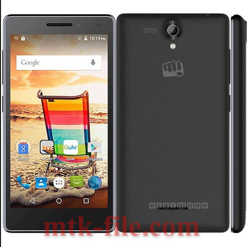 Micromax Q332 Flash File MT6580 100% Tested Download | Mtk