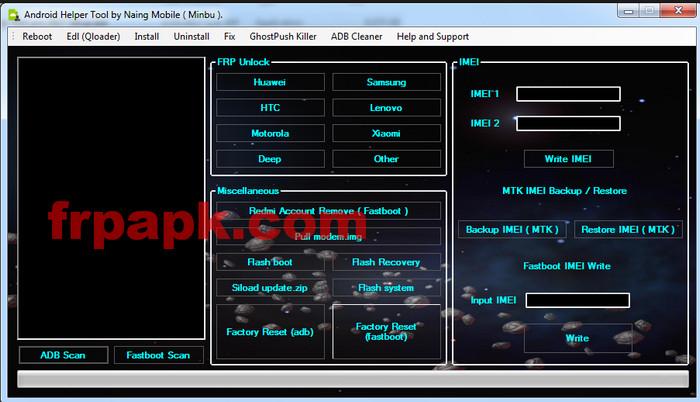 Lenovo FRP Remove Tool