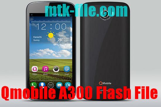 Qmobile A300 Flash File