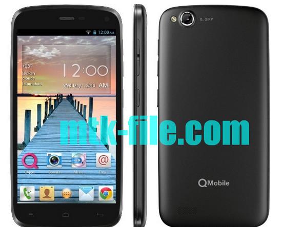 Qmobile A900 Flash File