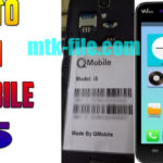 Qmobile i5 Flash File Firmware+Flash Tool Download