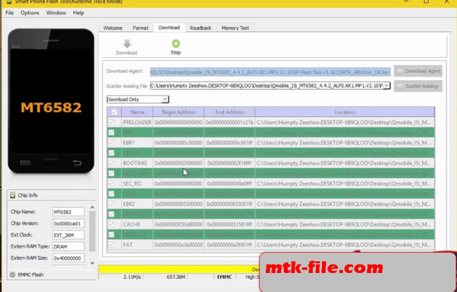 Qmobile i5i Firmware