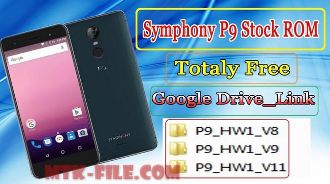 Symphony P9 Firmware