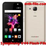 Symphony V44 Flash File Firmware Free (V44_HW1_V8) Download