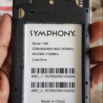 Symphony V96 Flash File (V96_HW1_V9) Firmware Free 100% Tested