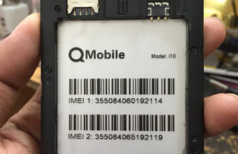 Qmobile i10 Flash File Firmware (MT6582) 100% Tested Download